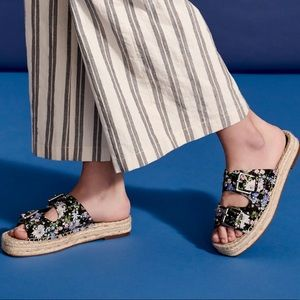 REBECCA MINKOFF   Floral Espadrille Sandals